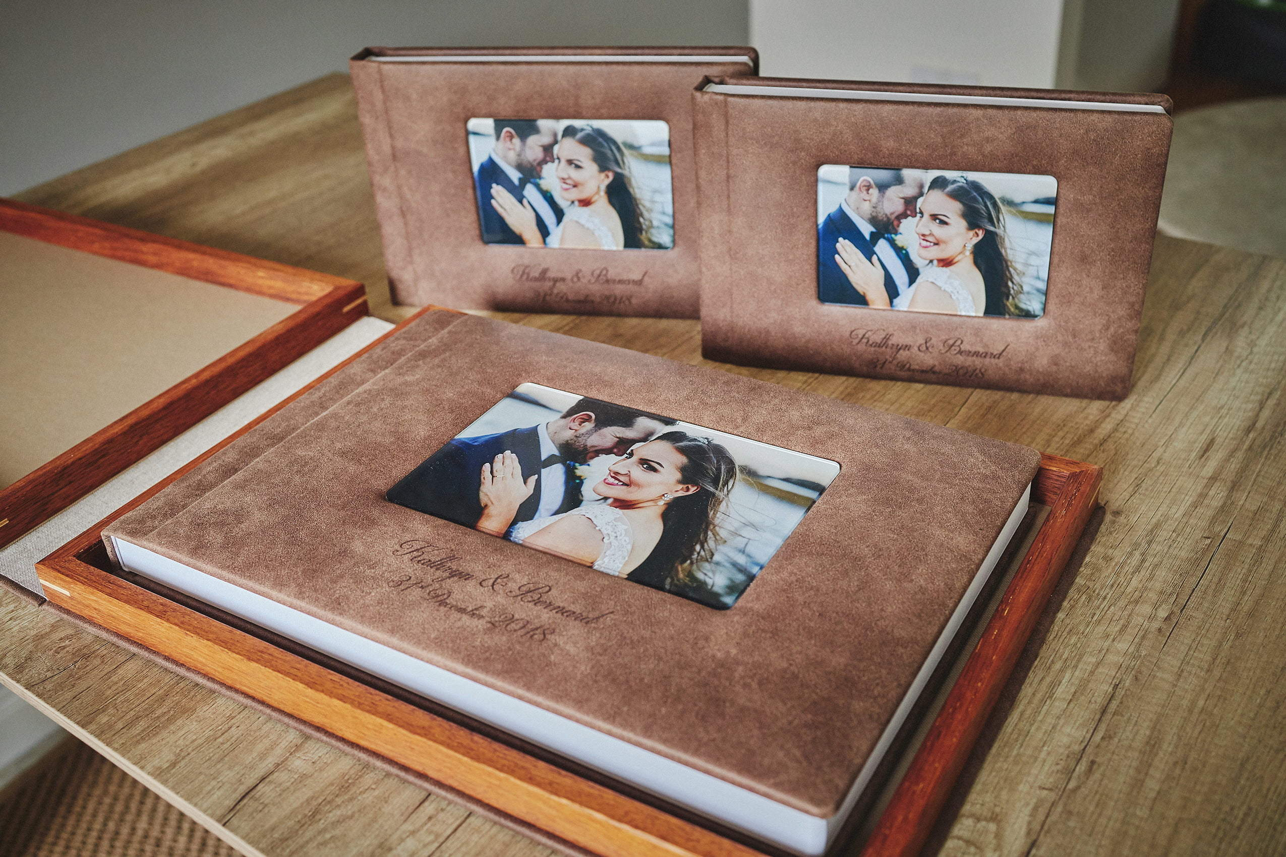 SLIM SET 1 Standard and 2 Parents wedding albums (60 pages-150 photos) 2