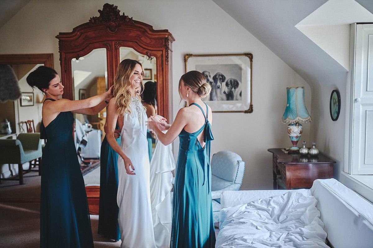 Tankardstown House Winter Wedding Ceremony? 20