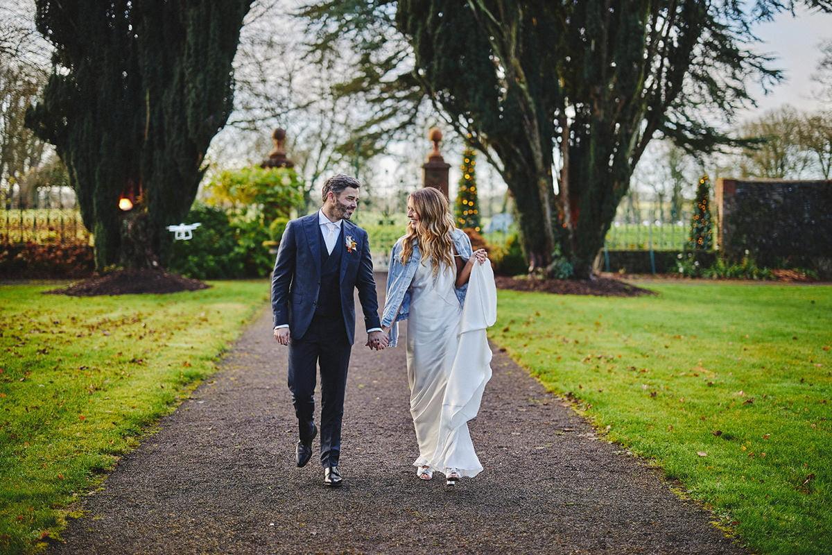 Tankardstown House Winter Wedding Ceremony? 38