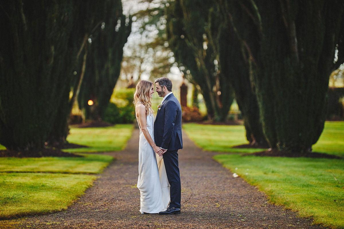 Tankardstown House Winter Wedding Ceremony? 40