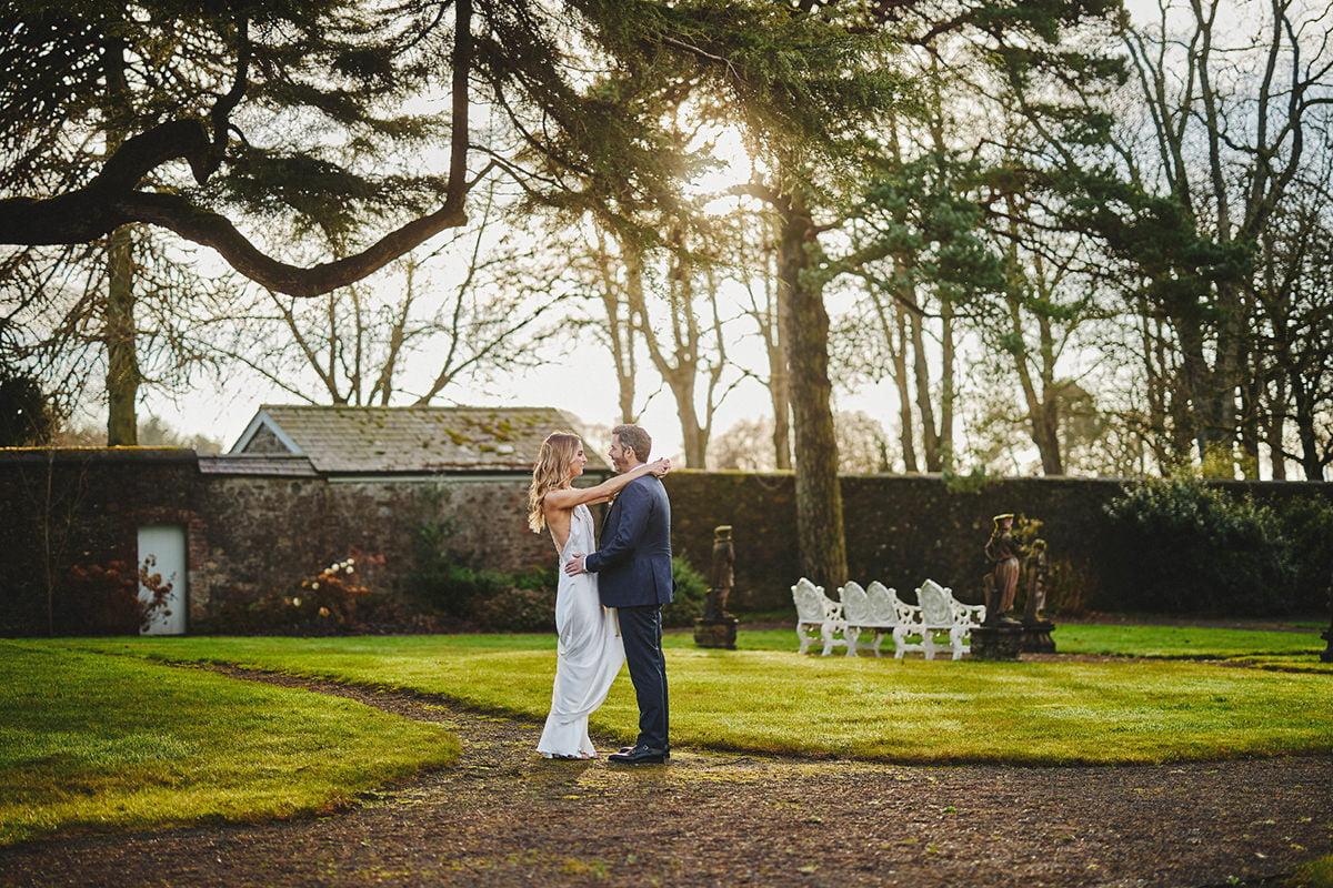 Tankardstown House Winter Wedding Ceremony? 43