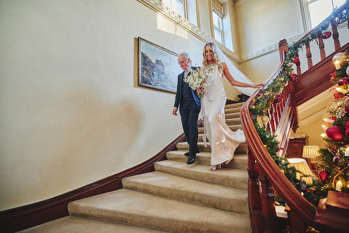 Tankardstown House Winter Wedding Ceremony? 53