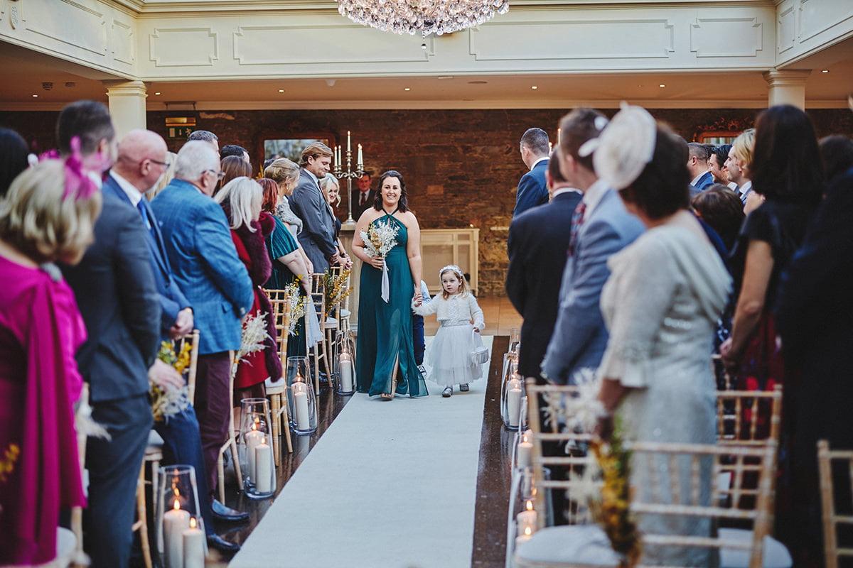 Tankardstown House Winter Wedding Ceremony? 56