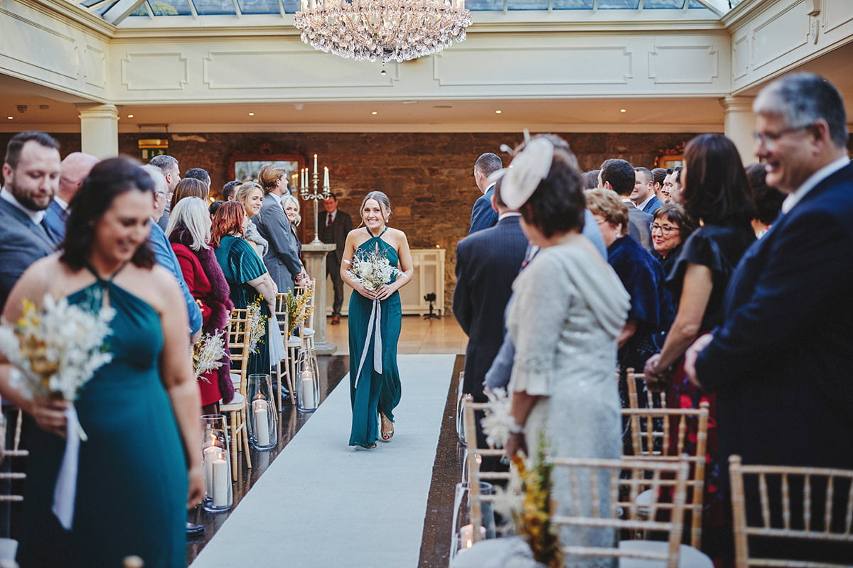 Tankardstown House Winter Wedding Ceremony? 57