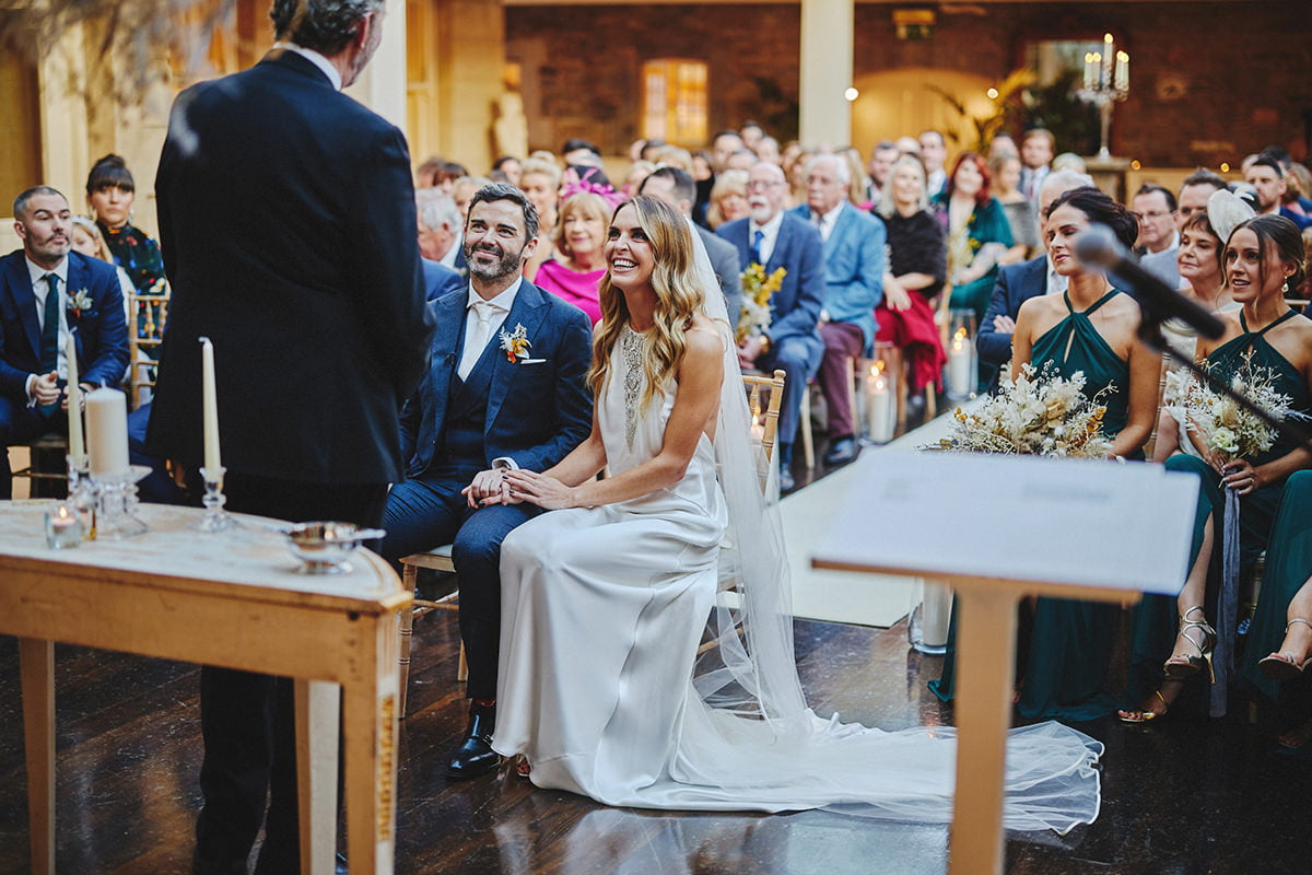 Tankardstown House Winter Wedding Ceremony? 60