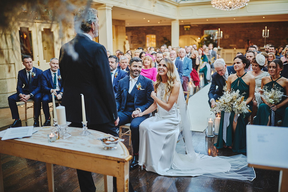 Tankardstown House Winter Wedding Ceremony? 61