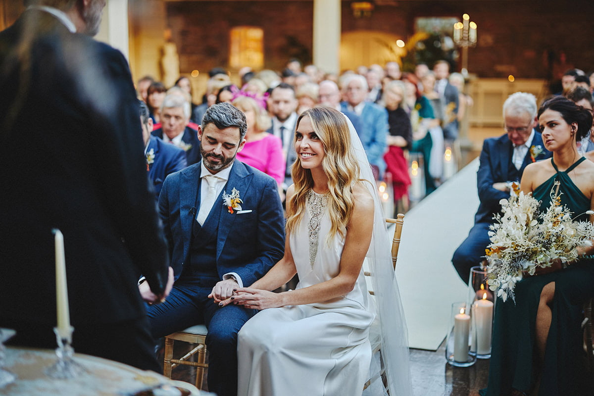 Tankardstown House Winter Wedding Ceremony? 62