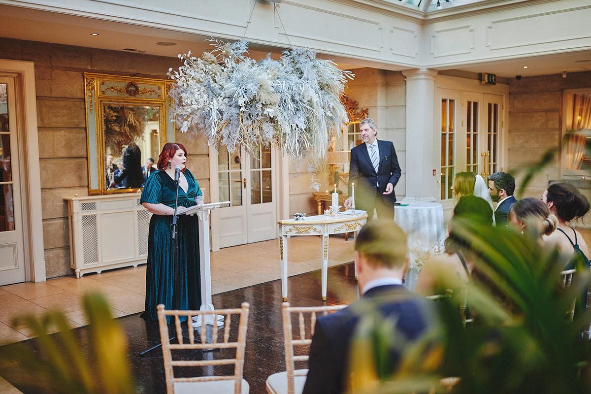 Tankardstown House Winter Wedding Ceremony? 70