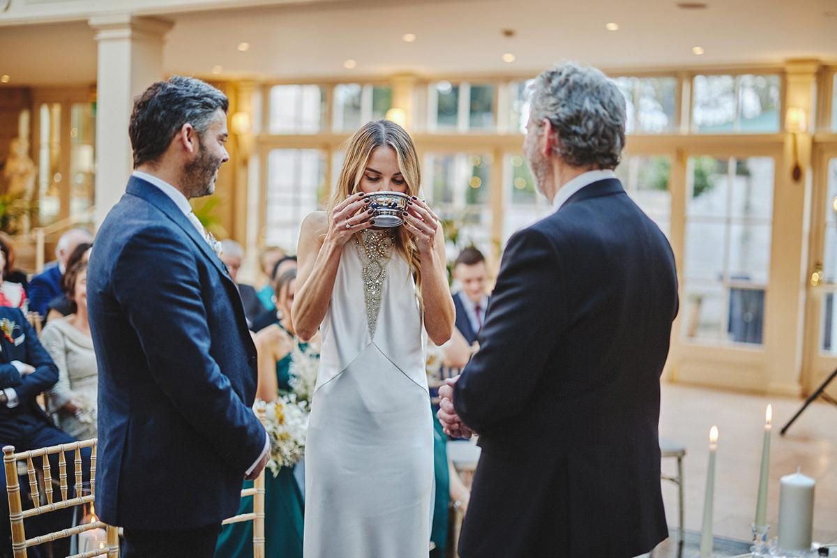 Tankardstown House Winter Wedding Ceremony? 71