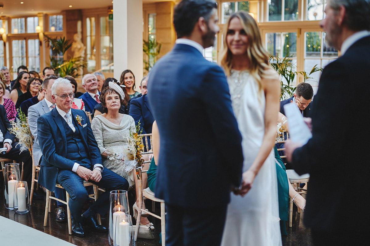 Tankardstown House Winter Wedding Ceremony? 73