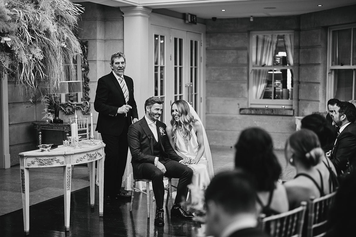 Tankardstown House Winter Wedding Ceremony? 76