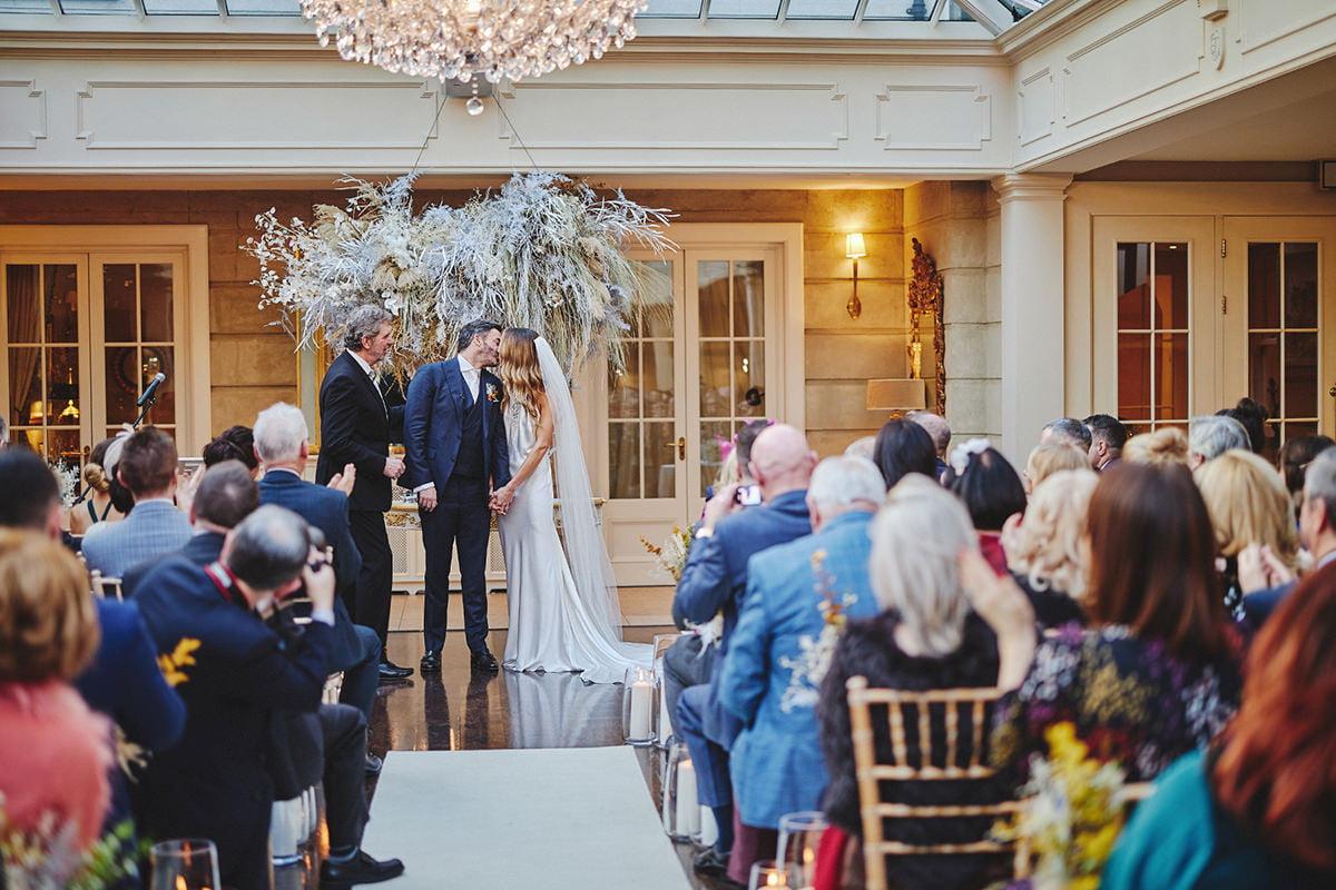 Tankardstown House Winter Wedding Ceremony? 78