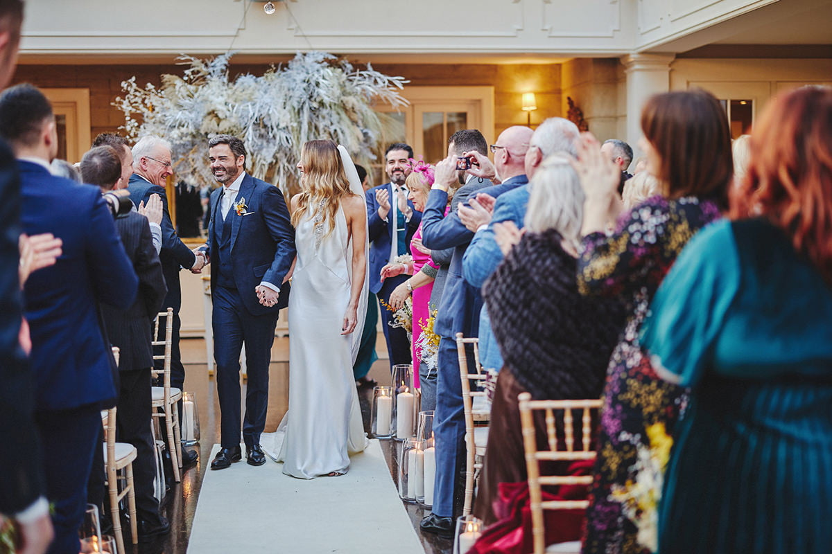 Tankardstown House Winter Wedding Ceremony? 79
