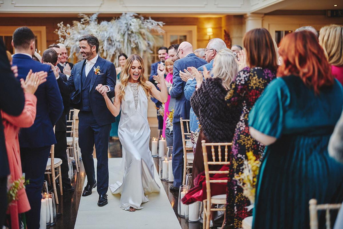 Tankardstown House Winter Wedding Ceremony? 80