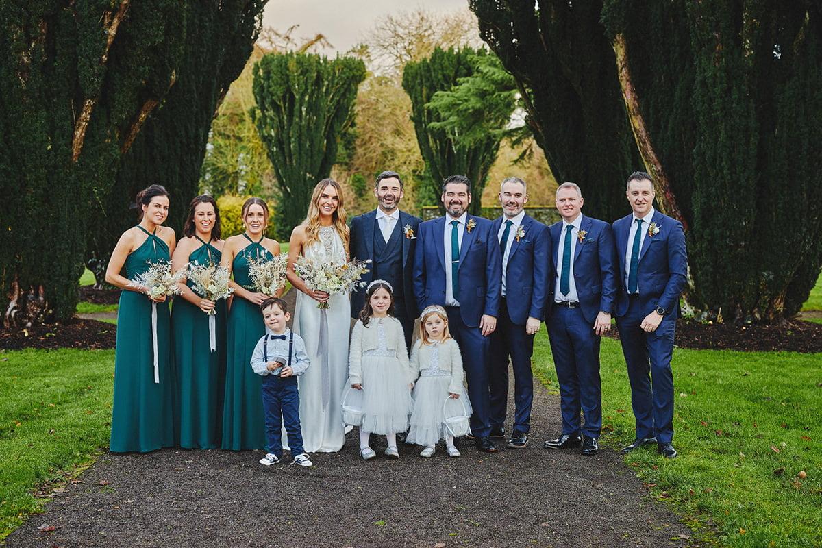 Tankardstown House Winter Wedding Ceremony? 87