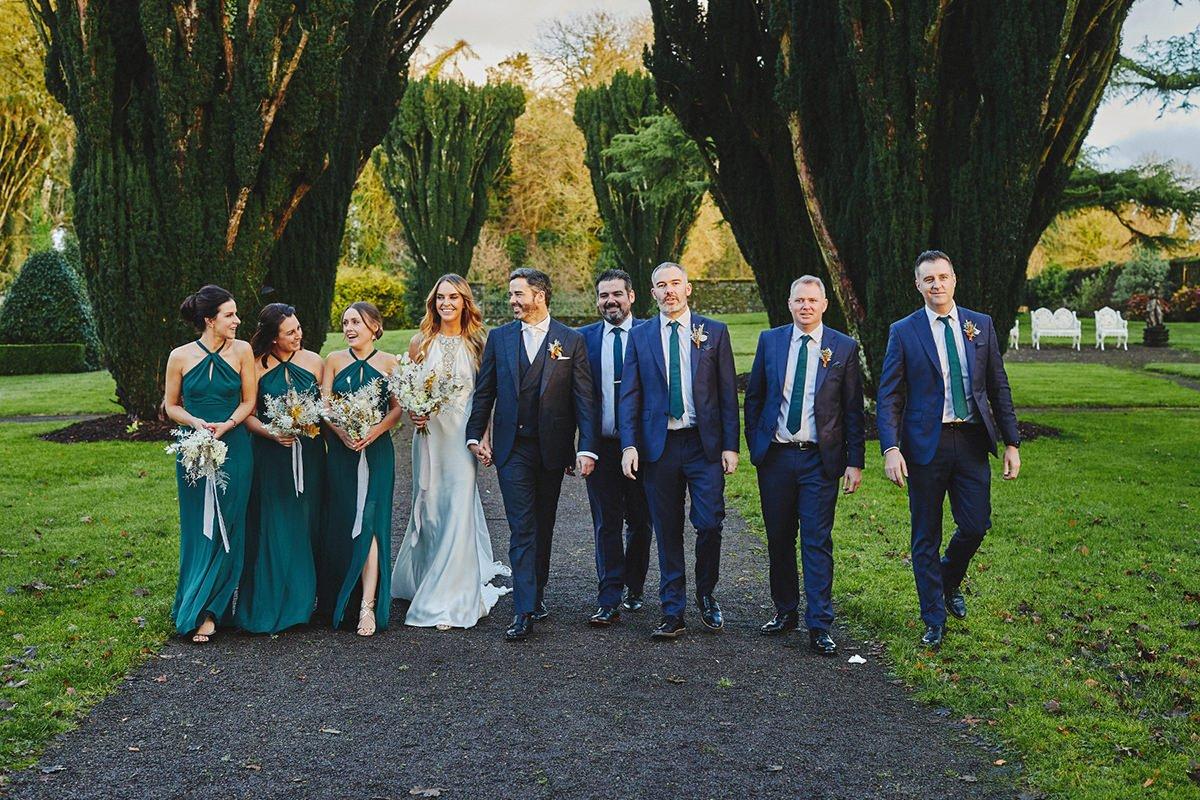Tankardstown House Winter Wedding Ceremony? 88