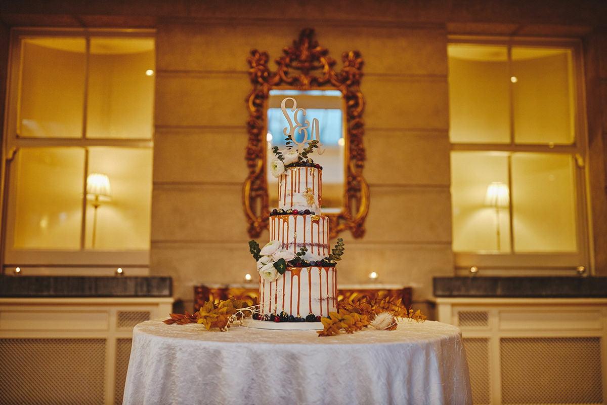 Tankardstown House Winter Wedding Ceremony? 99