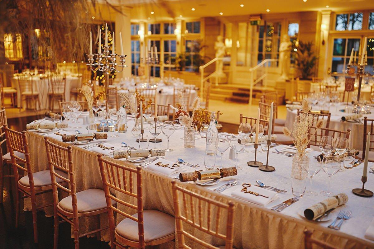 Tankardstown House Winter Wedding Ceremony? 102