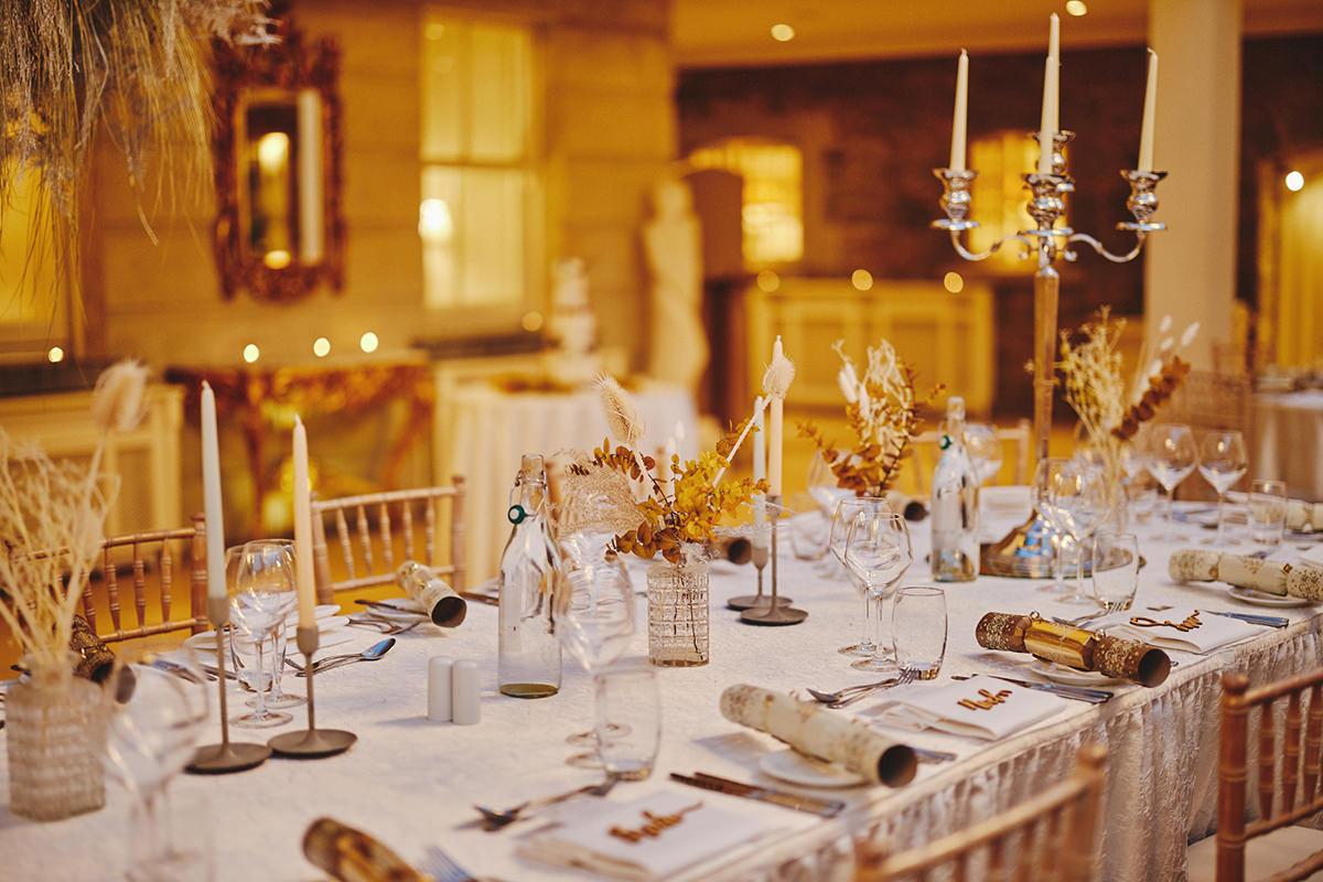 Tankardstown House Winter Wedding Ceremony? 105