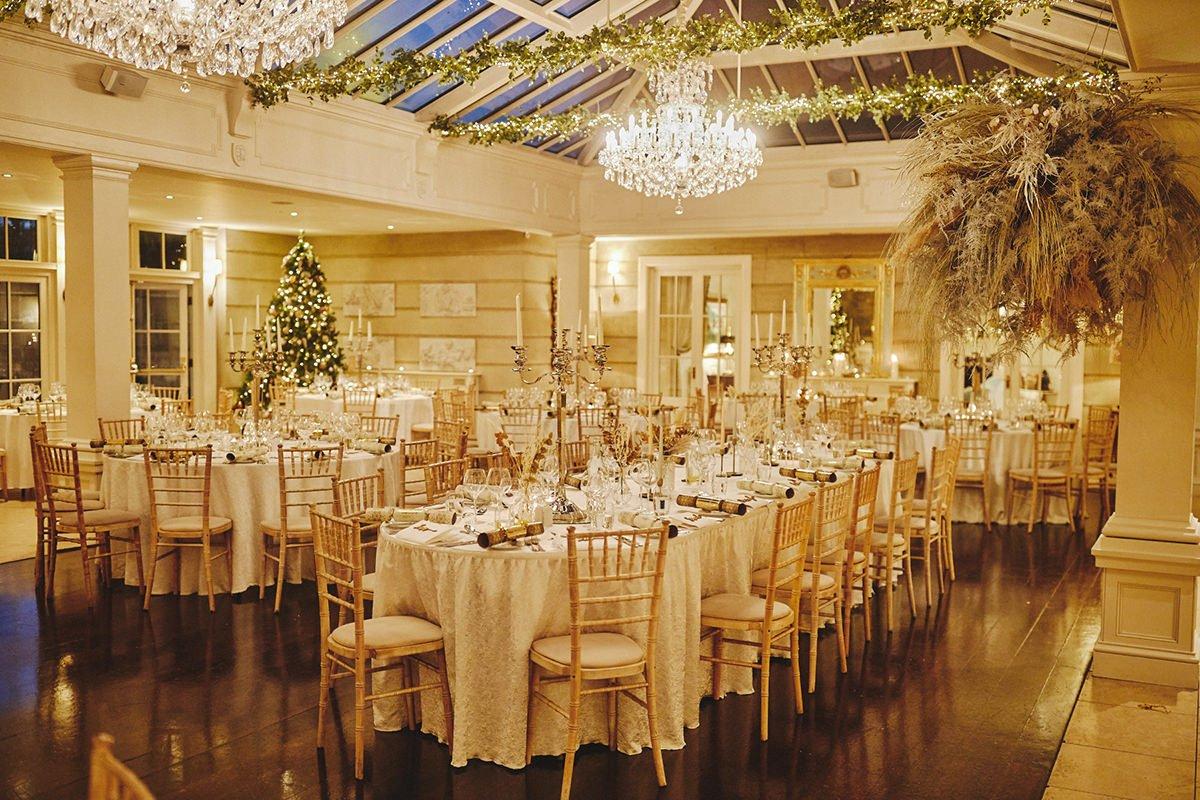 Tankardstown House Winter Wedding Ceremony? 110