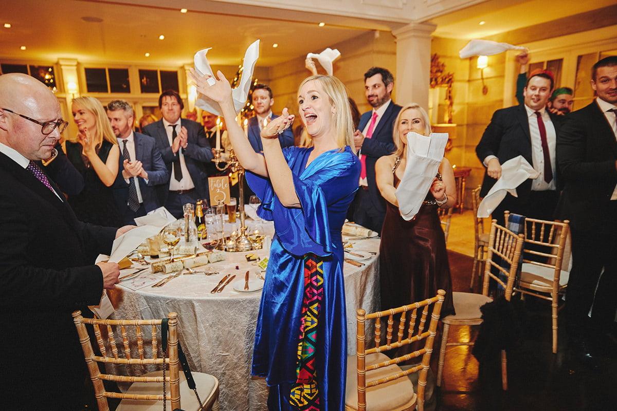 Tankardstown House Winter Wedding Ceremony? 116