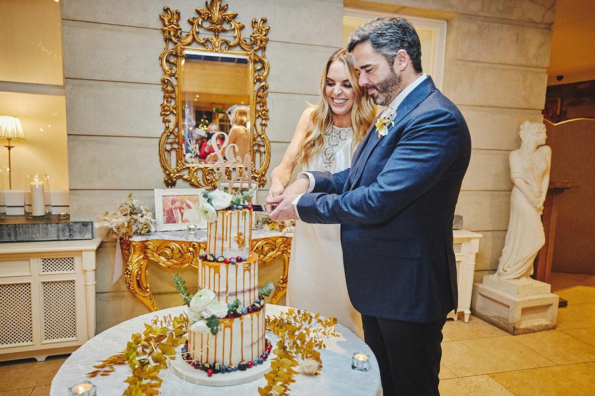 Tankardstown House Winter Wedding Ceremony? 117