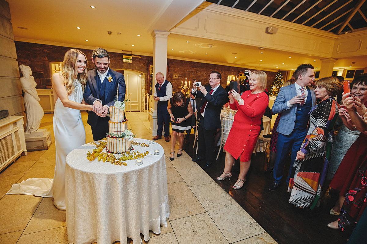Tankardstown House Winter Wedding Ceremony? 118