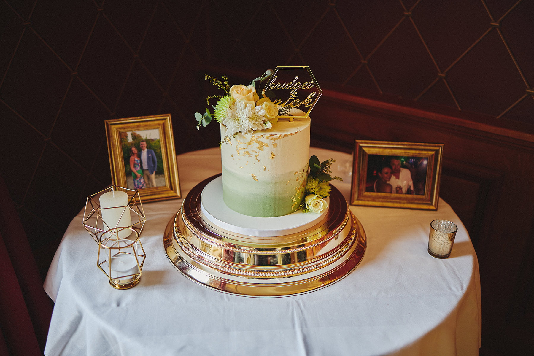 Wedding budget tips cake