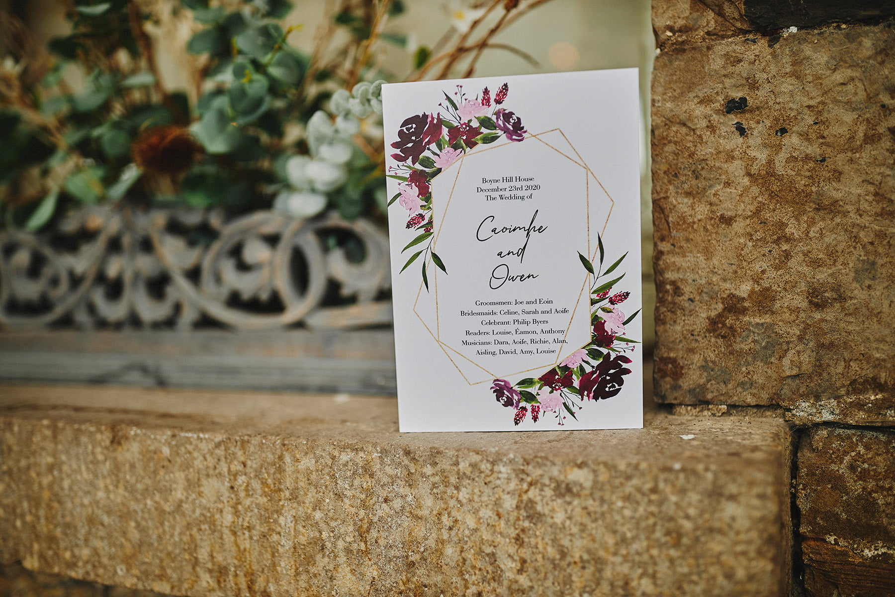 Boyne Hill House - Stunning Small Wedding 35