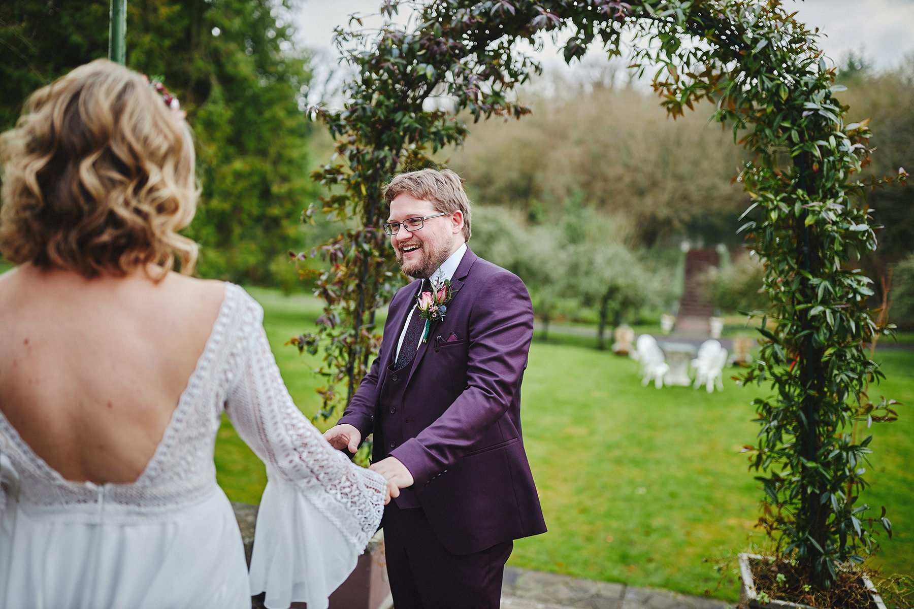 Boyne Hill House - Stunning Small Wedding 56