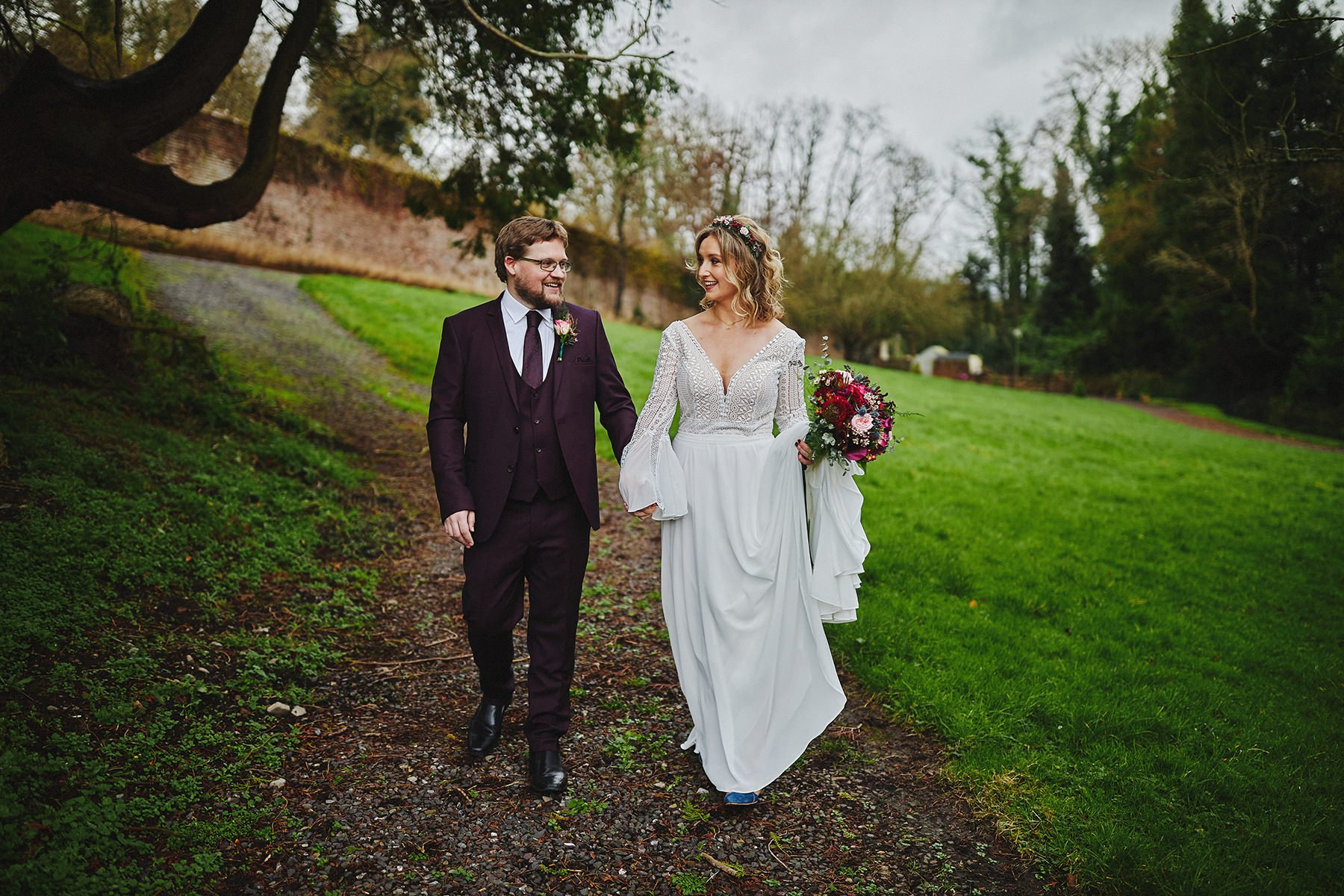 Boyne Hill House - Stunning Small Wedding 61