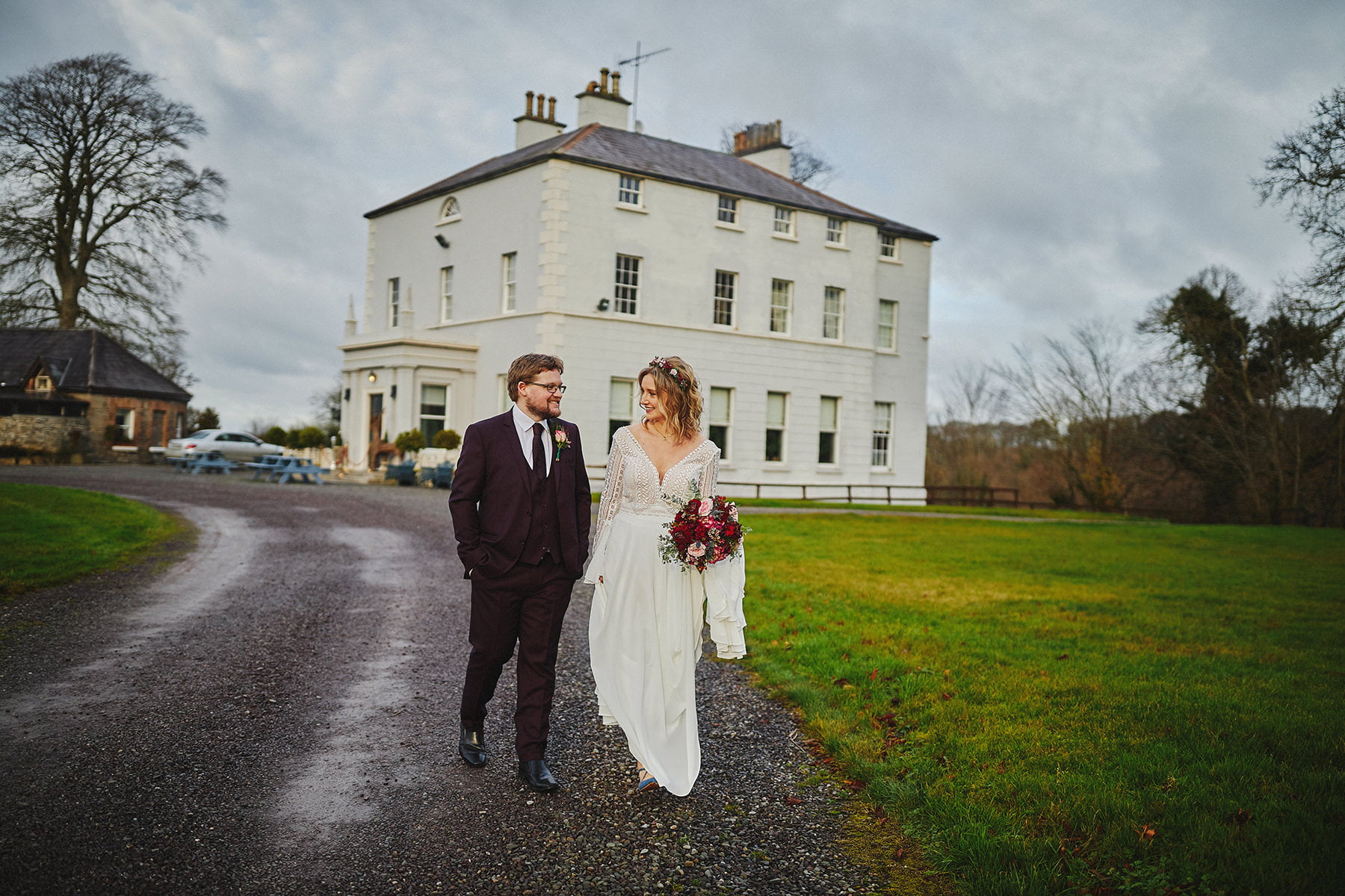 Boyne Hill House - Stunning Small Wedding 64