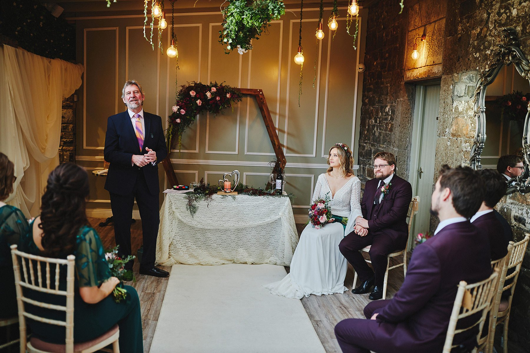 Boyne Hill House - Stunning Small Wedding 74