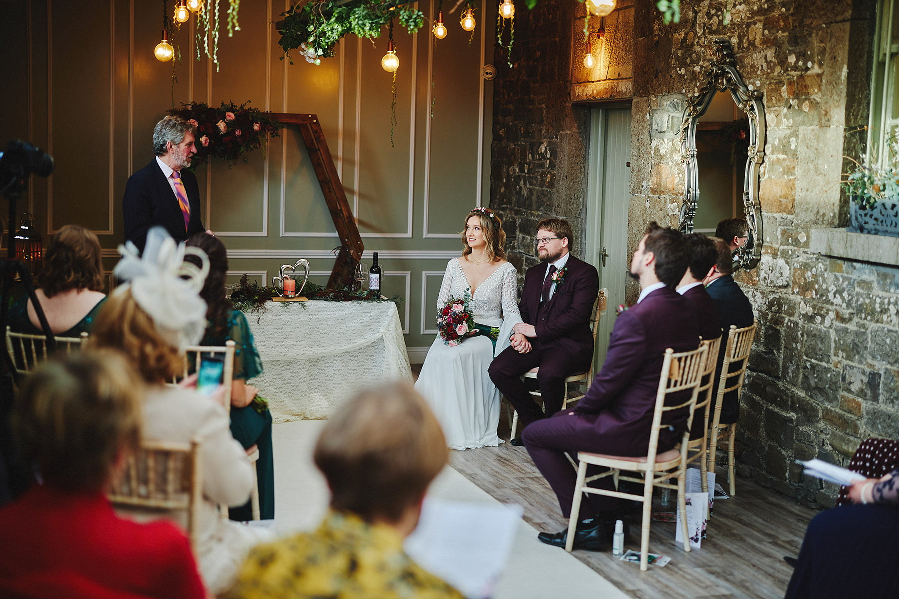 Boyne Hill House - Stunning Small Wedding 75