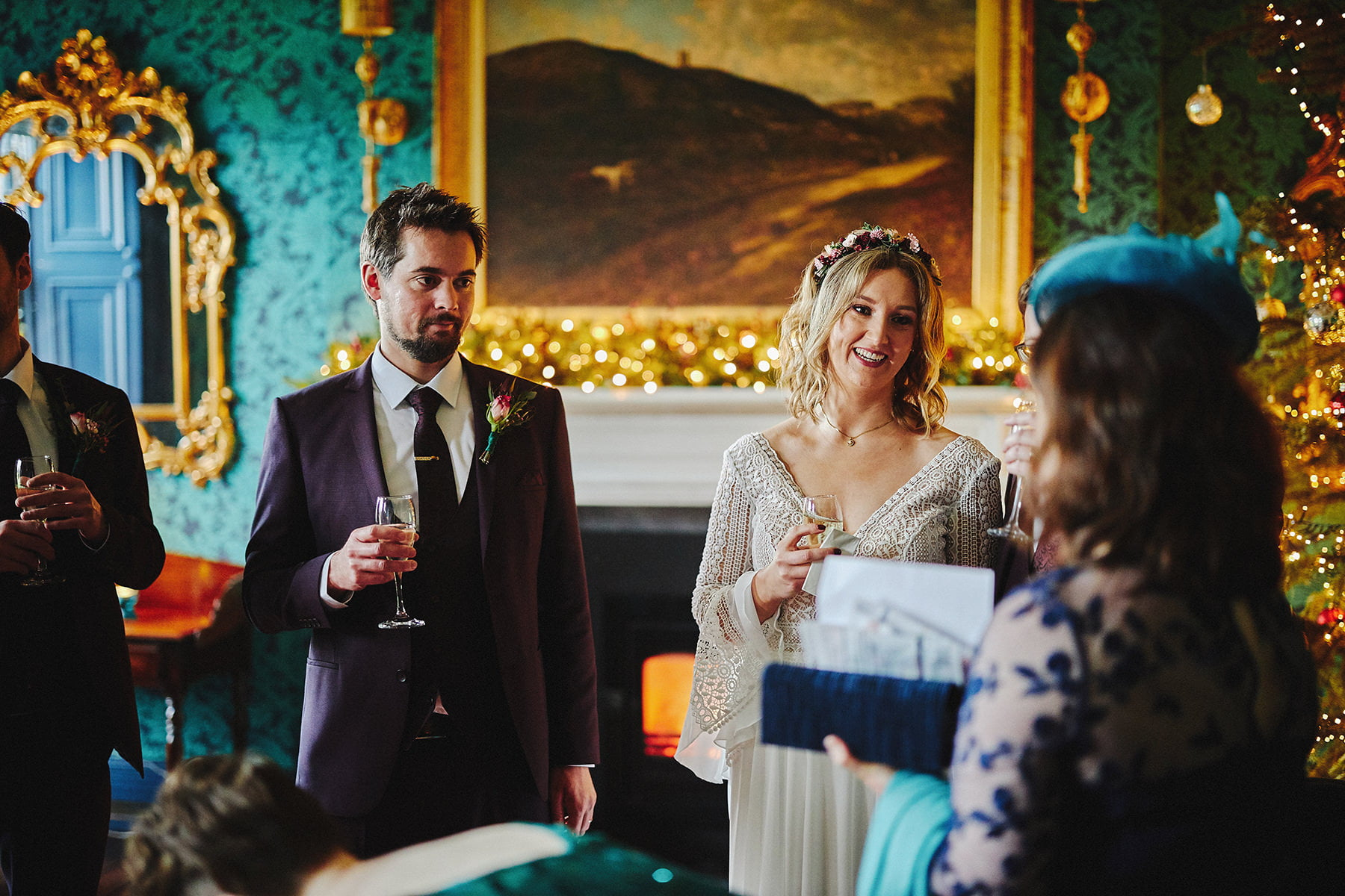 Boyne Hill House - Stunning Small Wedding 109