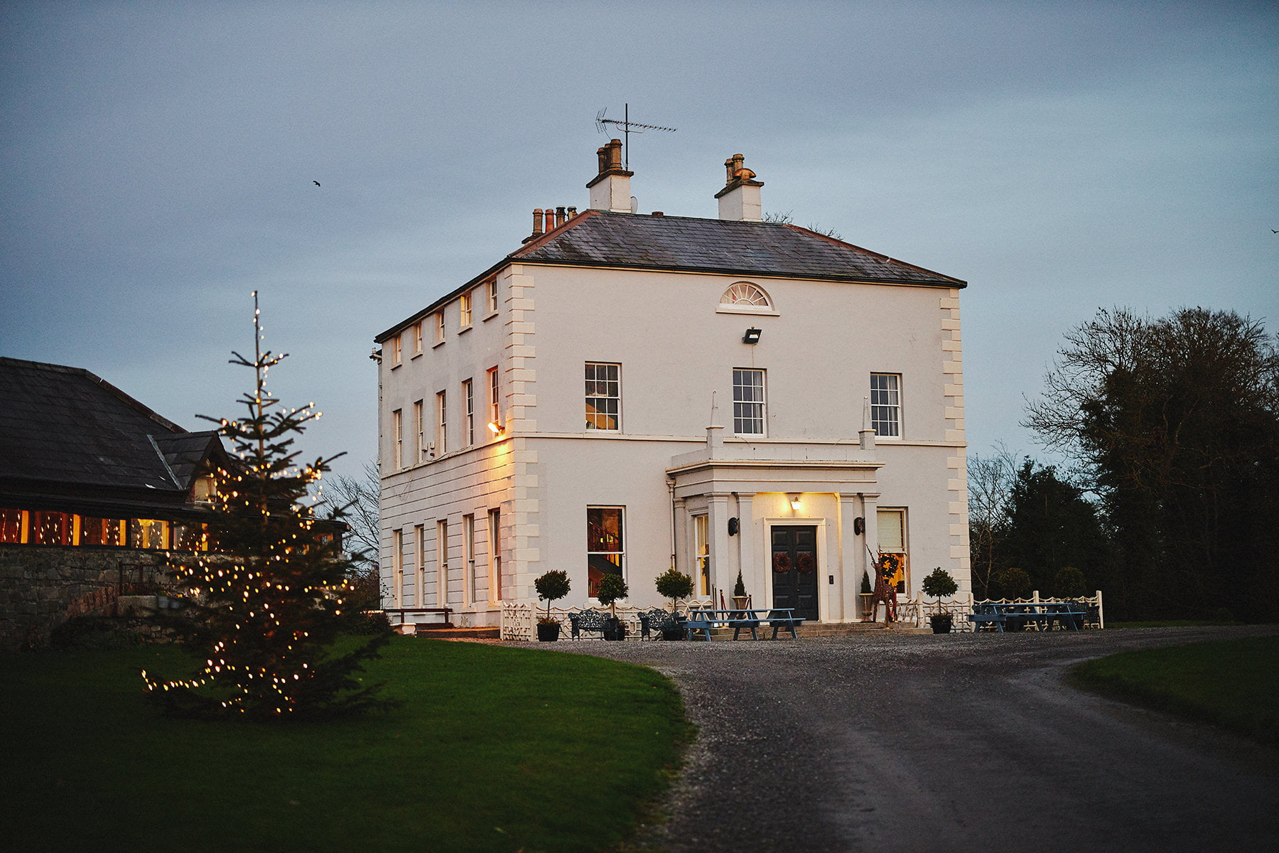 Boyne Hill House small wedding