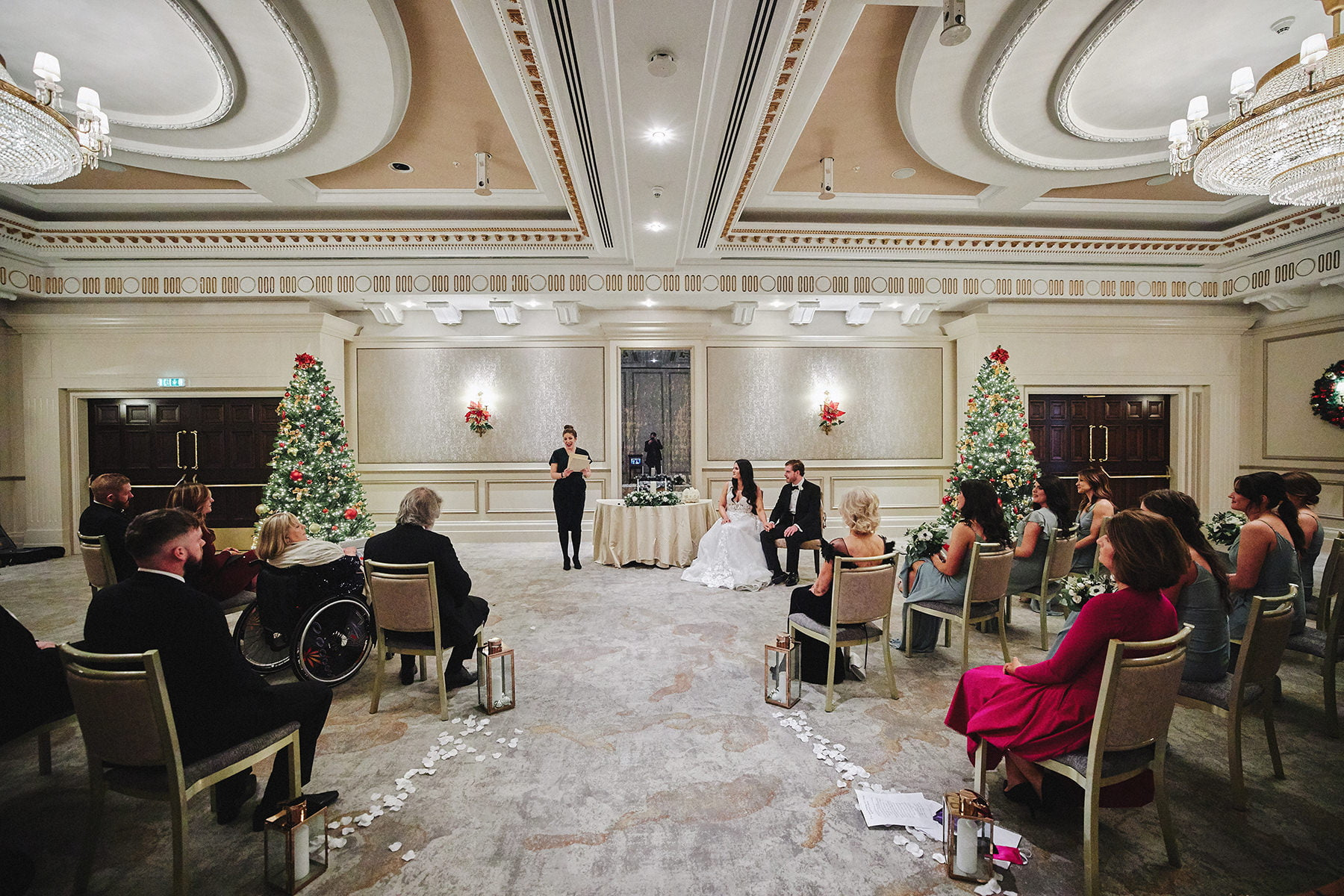 POWERSCOURT HOTEL RESORT INTIMATE WEDDING 44