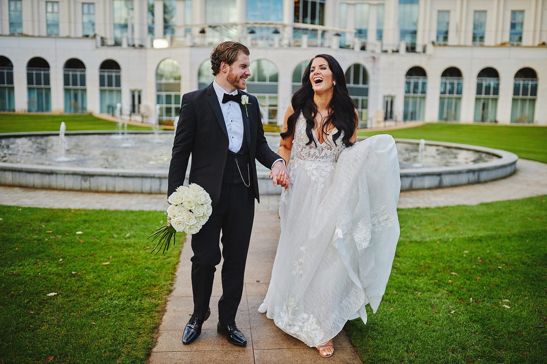 POWERSCOURT HOTEL RESORT INTIMATE WEDDING 76