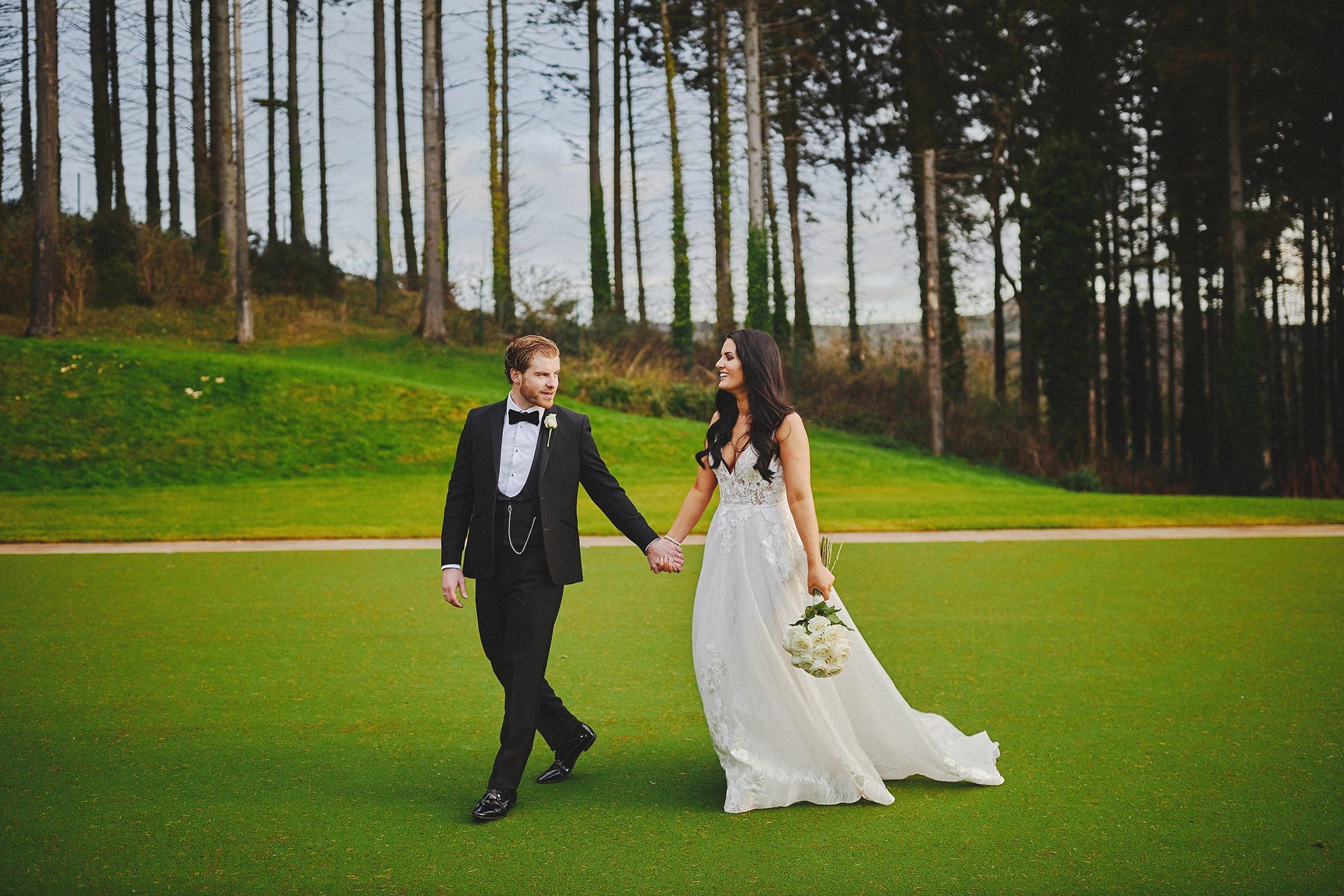 Powerscourt Hotel wedding