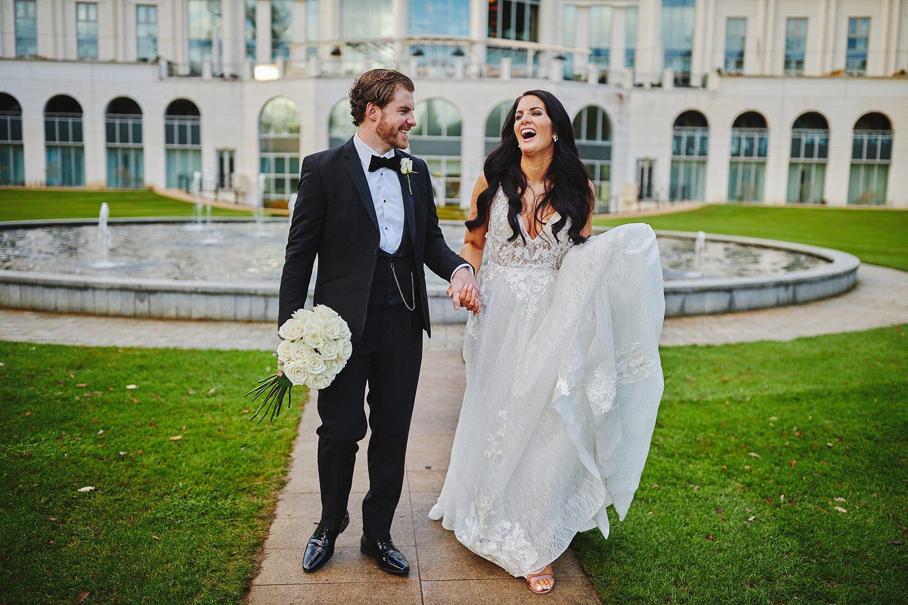 Powerscourt Hotel intimate wedding