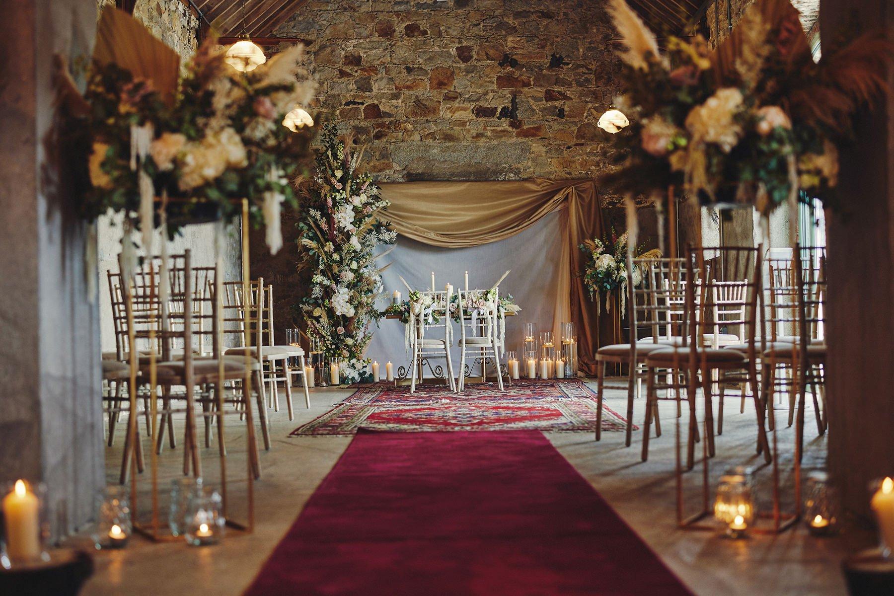 Wedding at Ballykealey House Barn 12