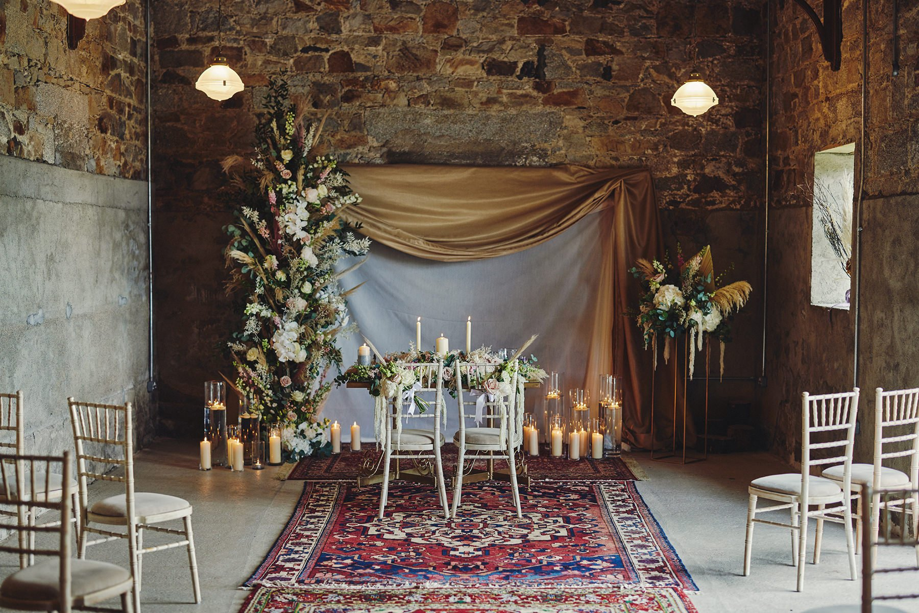 Wedding at Ballykealey House Barn 13