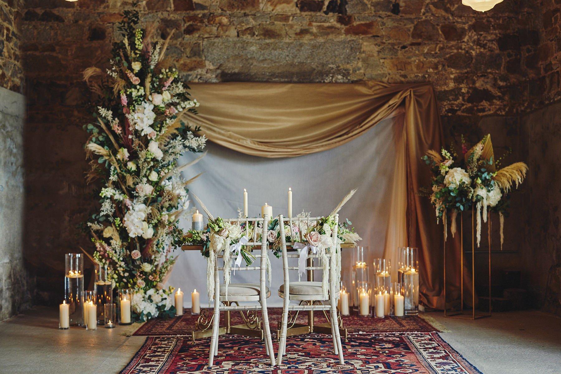 Wedding at Ballykealey House Barn 14