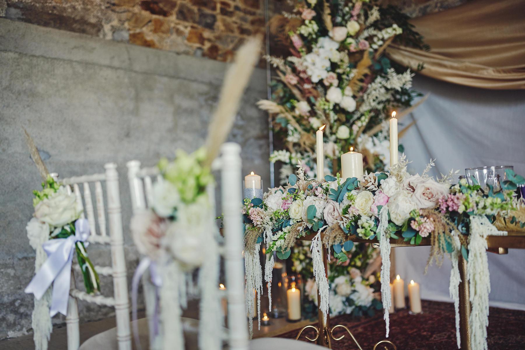 Wedding at Ballykealey House Barn 17