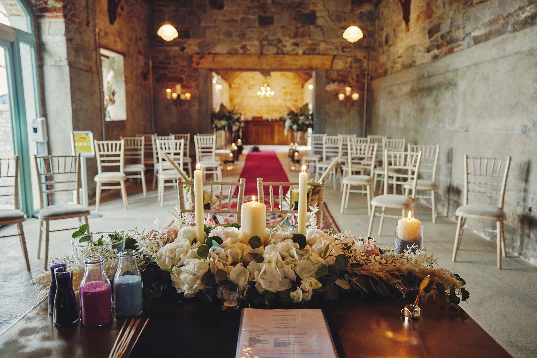 Wedding at Ballykealey House Barn 22