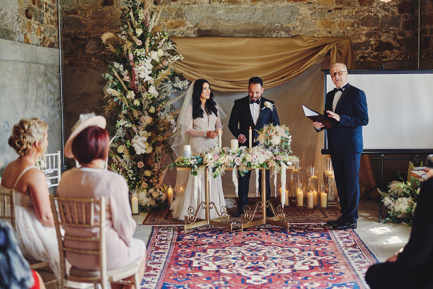 Wedding at Ballykealey House Barn 32