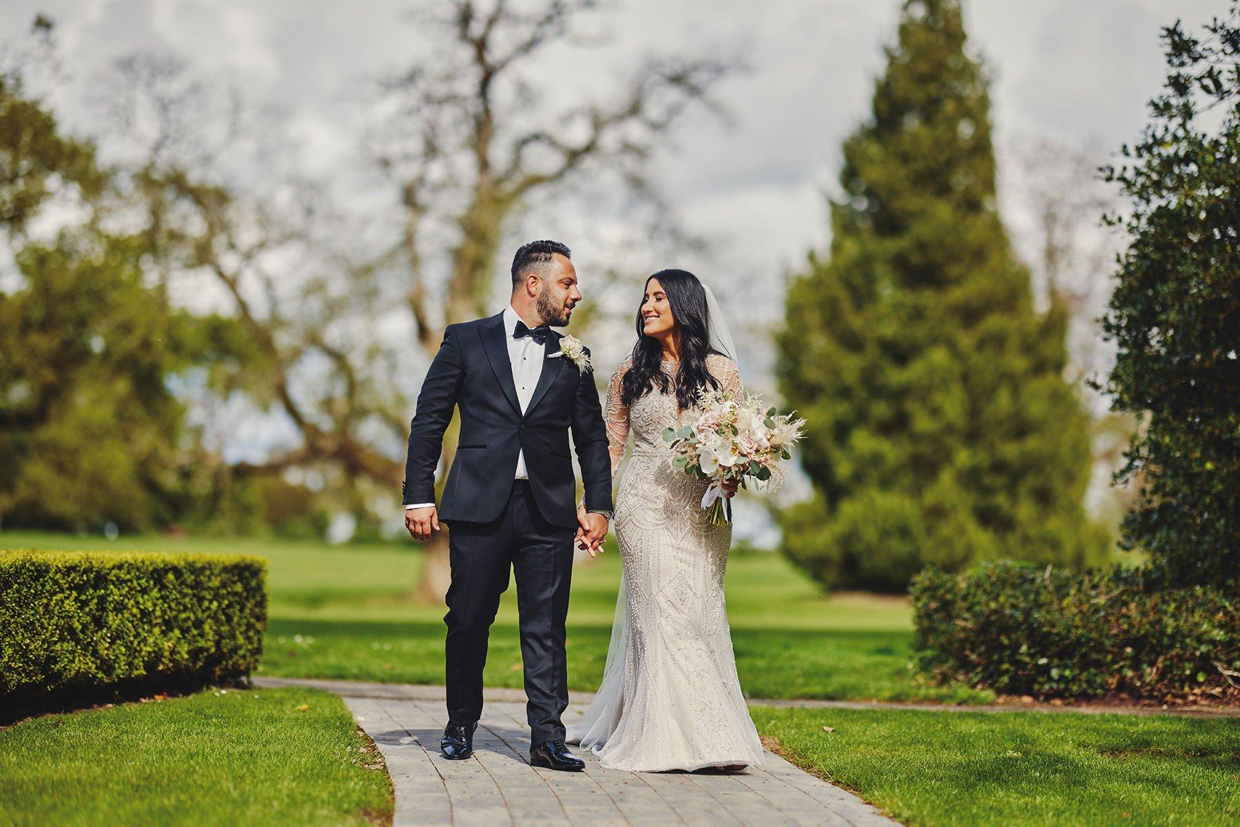 Wedding at Ballykealey House Barn 6
