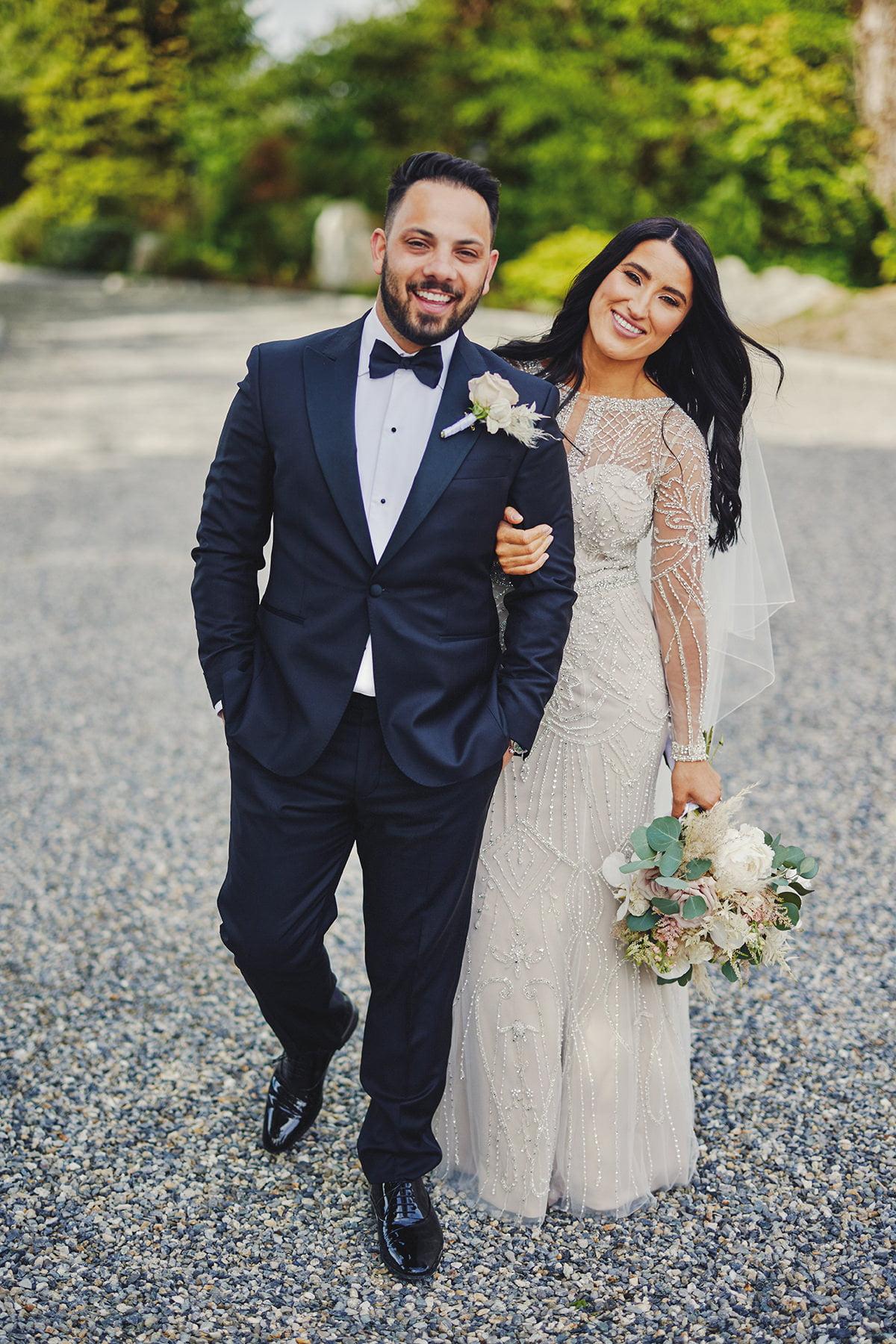 Wedding at Ballykealey House Barn 35